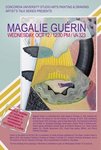 Painting and Drawing Series Talks: MAGALIE GUÉRIN