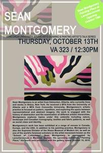 Painting and Drawing Series Talks: SEAN MONTGOMERY