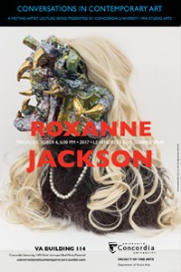 CICA Presents Roxanne Jackson - Friday, October 6 at 6:00pm, VA-114