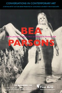 CICA Presents Bea Parsons - Friday, January 26 at 6pm, VA-114