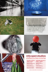 MFA Open Studios - Feb. 14th, 6-9pm EV & VA Buildings