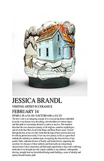 Visiting Artist in Ceramics: JESSICA BRANDL