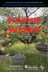 CICA Presents Marnie Weber - March 2, 2018 at 6pm in VA-114