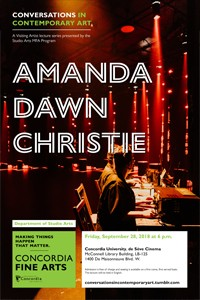 CICA Presents Amanda Dawn Christie - Friday, Sept. 28 at 6pm