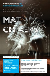 CICA Presents Mat Chivers - Friday, Oct. 19 at 6pm