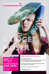 CICA Presents Bridget Moser, Friday, Oct. 26 at 6pm in H-110