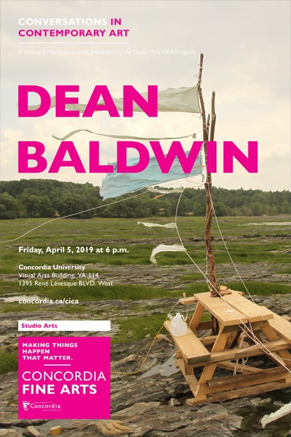 CICA Presents Dean Baldwin - Friday, April 5 in VA-114