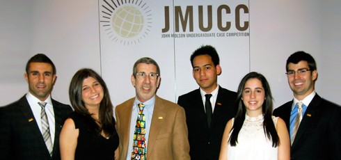 JMSB Team Has 'Unforgettable' Experience at John Molson Undergraduate Case Competition