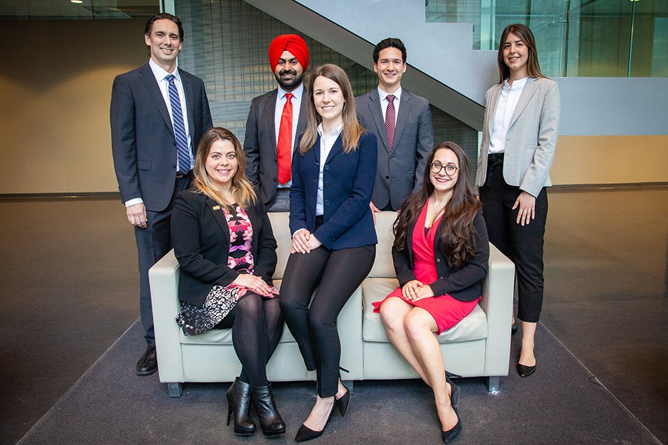The 2019-2020 John Molson MBA Case Competition Committee