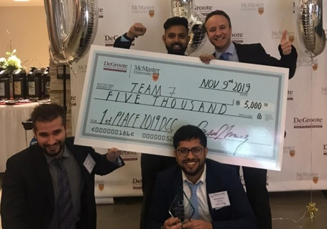 DeGroote Nov.2019 Case Competition 1st Place Team