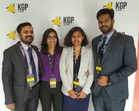 KGP-PMI Nov. 2019 Case competition 3rd place team