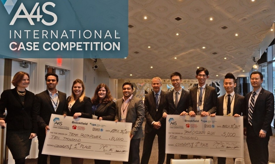 A4S Rotman International Case Competition - 2019 winners