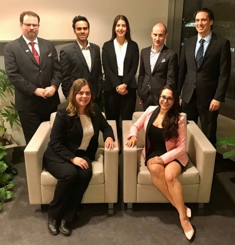 39th JMSB International Case Competition team