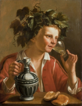 """Young Man as Bacchus""- Jan Franse Verzijl (1599-1647)"