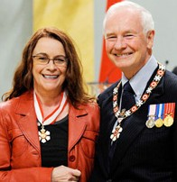 Order of Canada for Raymonde April
