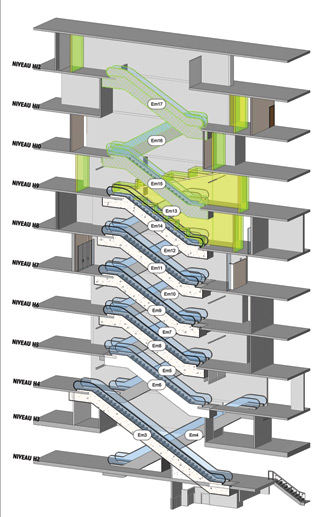 Extensive Planning Goes Into Escalator Project