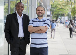 Sunday Azagba and Mesbah Sharaf, doctoral candidates in the Concordia Department of Economics, have examined the impact of job stress to health care costs. | Photo Concordia University