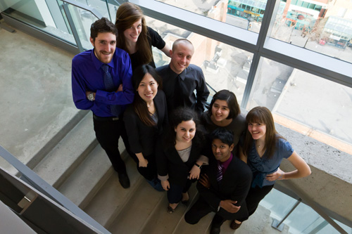 AIESEC Concordia's executive board 2011 - 2012 | Photo courtesy of AIESEC