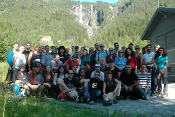 Participants of the International Comparative Rural Policy Studies (ICRPS) 2011 Summer School in Norway. | Photo courtesy of the ICRPS 2011 Summer School