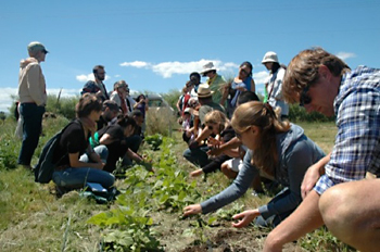 Field work during the 2010 summer school in Oregon, U.S. | Photo by Katja Cappelen