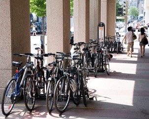 Where to park your bike — and more