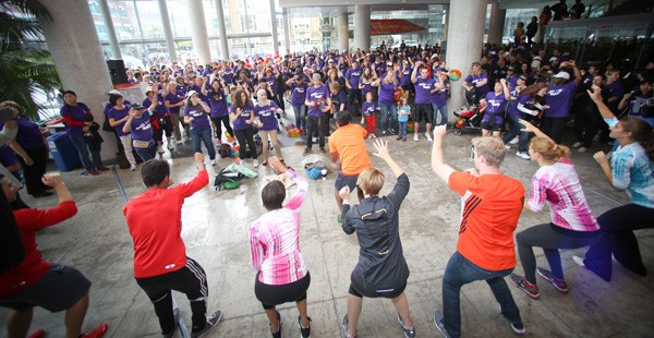 700 Shufflers marched for student support