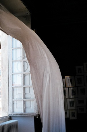 """Curtain, Arles,"" 2008, by Celia Perrin Sidarous. From the series The Book Of Things (2008-2013)"