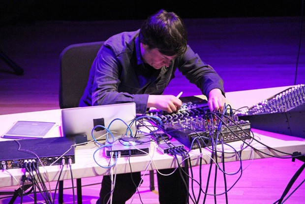 Electroacoustic musician and research Doug Van Nort