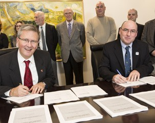 Concordia and CUUSS-TS sign collective agreement