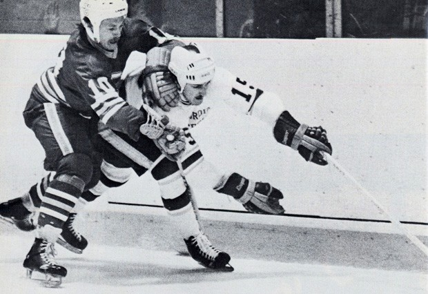 The Stingers in action during the 1975-76 season