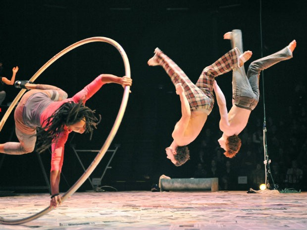 Big-top academia joins Cirque du Soleil expertise at Concordia's second Thinking Out Loud talk