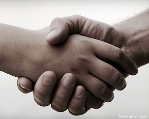 Can a simple handshake predict cancer survival rates?