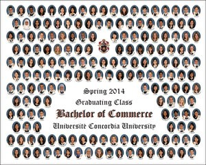 Example of a graduating class mosaic photo | Photo by Lassman Studios