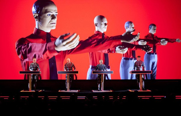 Kraftwerk: Fun and repetitive, like an Atari arcade game from the eighties.
