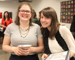 Maya Lalonde (left) and Heather Cutts