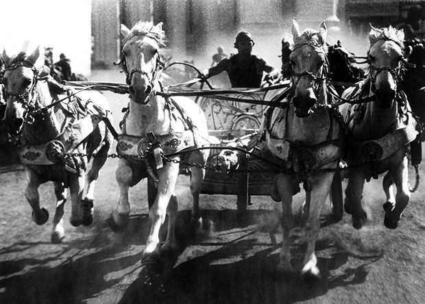 Ben-Hur: The craziest chariot race ever recorded on celluloid