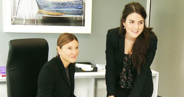 This year's CEO x 1 Day finalist Katerina Fragos, BComm 14, spent a day shadowing Videotron CEO Manon Brouillette