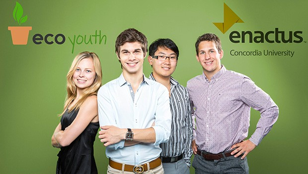 Team Enactus Concordia, fresh from their win at Forces AVENIR