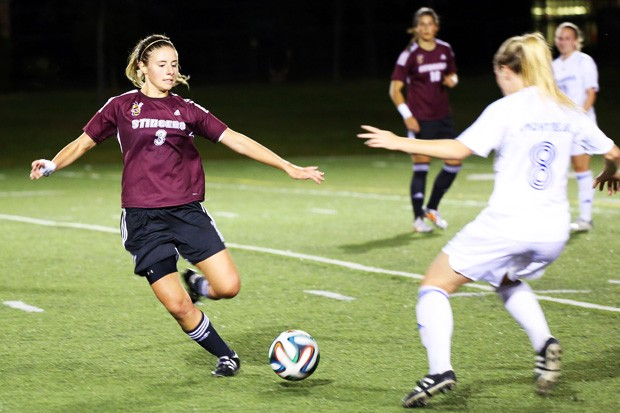 The Concordia women's soccer team is getting geared to win Friday night's game against UQTR.