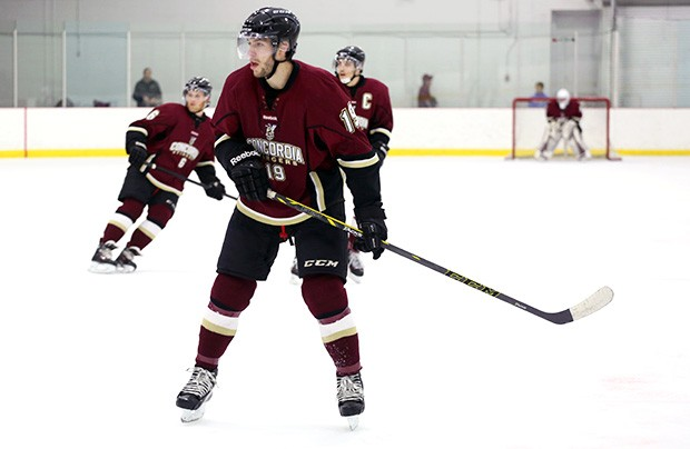 The Concordia Stingers men's hockey team is ranked third overall for number of goals scored, with an accumulated 35 goals.