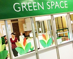 New Green Space showcases sustainability projects and events