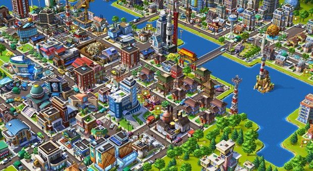 Social network games like CityVille (pictured here) are tools that can break down both communication and age barriers within the family.