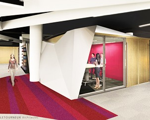Coming soon: the Webster Library Transformation