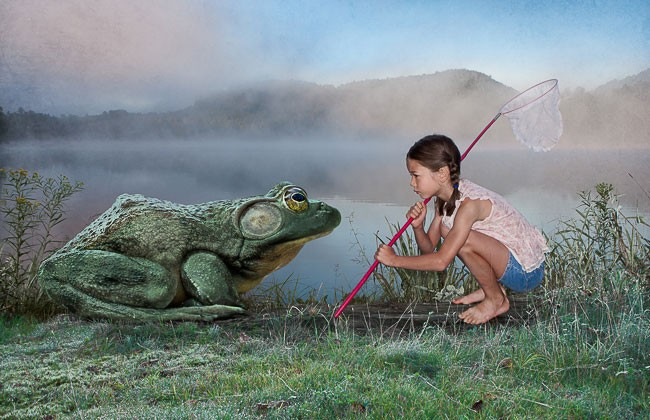 """Chasse à la grenouille"" by Catherine Rondeau 