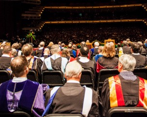 Reserve a place on stage for spring 2015 convocation