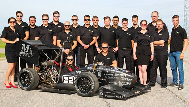 Formula Sae Team From Concordia Finished Eighth