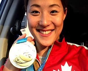 So you won gold at the Pan Am Games. What's next?