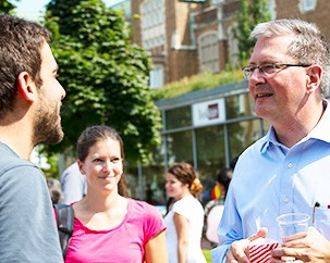 Concordia president hosts two back-to-school events