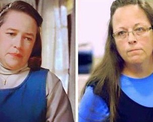 The Kim Davis affair: marriage rights … and internet memes