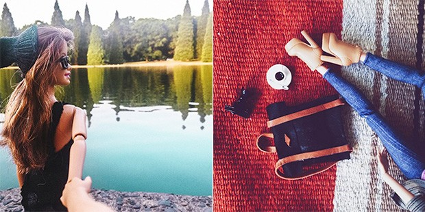 Images courtesy of Socality Barbie (Instagram)